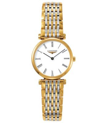 Longines watch, La Grande Classique de Longines Two Tone Bracelet L42092117