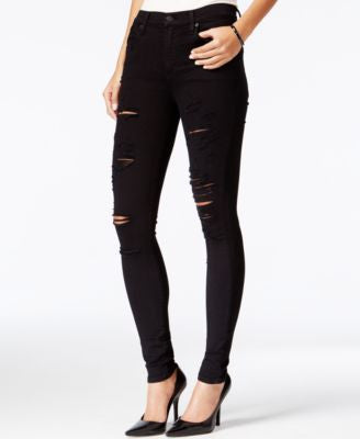 A Gold E Sophie Ripped Skinny Moonstruck Wash Jeans