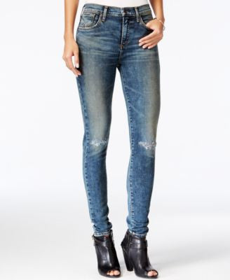 A Gold E Sophie Ripped Skinny Valencia Wash Jeans