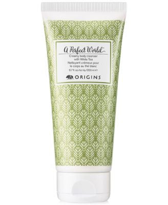 Origins A Perfect World Creamy Body Cleanser with White Tea, 6.7 oz