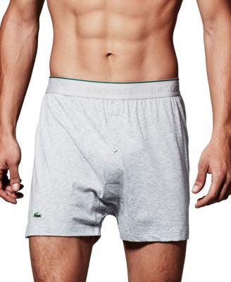 Lacoste Supima Cotton Knit 3-Pack Boxers