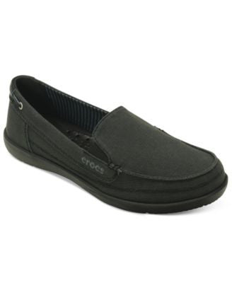Crocs Women's Walu Canvas Loafers