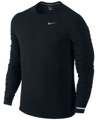 Nike Men's Dri-FIT Contour Long-Sleeve Running Shirt