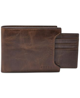 Fossil Derrick 2 In1 Bifold Leather Wallet