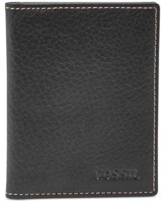 Fossil Lincoln Bi-Fold Leather Card Case