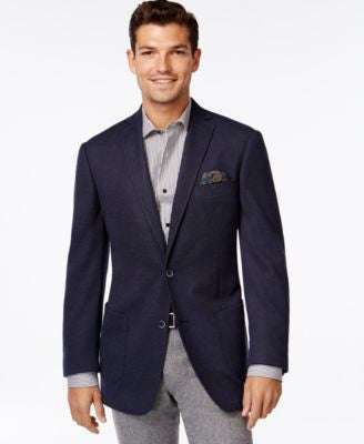 Tallia Men's Big & Tall Varene Knit Sport Coat