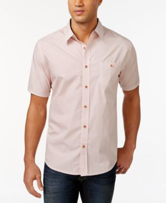 Weatherproof Vintage Printed Poplin Shirt, Only at Vogily