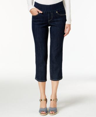 JAG Petite Echo Dark Shadow Wash Cropped Jeans