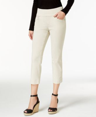 JAG Petite Echo Cropped Pull-On Pants