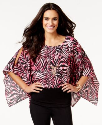 Thalia Sodi Embellished Batwing Top, Only at Vogily