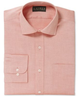 Lauren Ralph Lauren Non-Iron Pinpoint Solid Dress Shirt