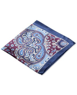 Club Room Paisley Pocket Square, Only at Vogily
