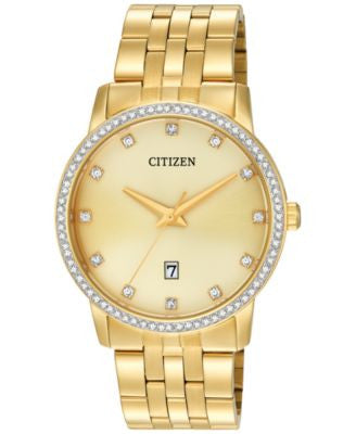 Citizen Men's Gold-Tone Stainless Steel Bracelet Watch 40mm BI5032-56P