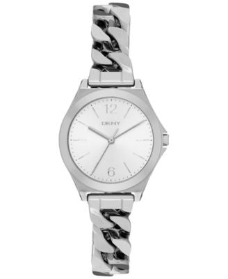 DKNY Women's Parsons Stainless Steel Bracelet Watch 30mm NY2424