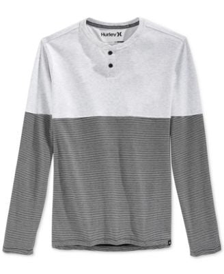 Hurley Dri-FIT Colorblock Long-Sleeve Henley