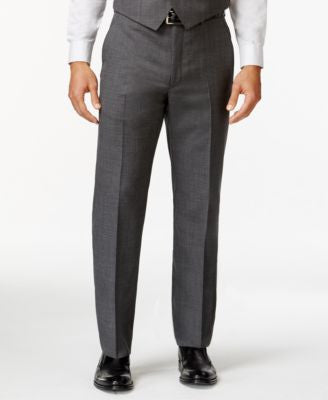 Lauren Ralph Lauren Grey Sharkskin Dress Pants