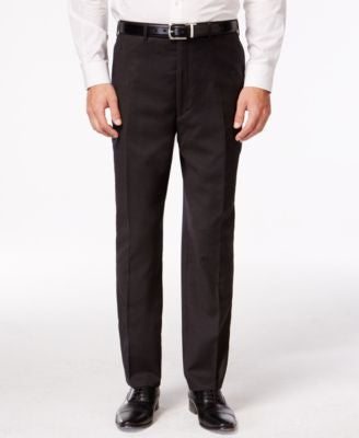 Shaquille O'Neal Collection Brown Neat Big and Tall Pants Only at Vogily