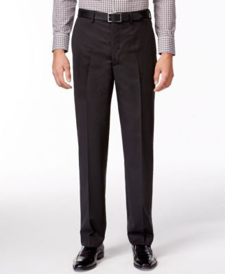 DKNY Black Pindot Pants Extra Slim Fit