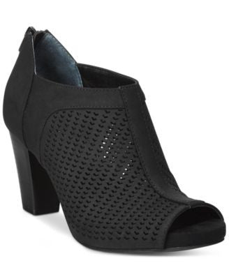 Giani Bernini Alanny Footbed Perforated Booties, Only at Vogily