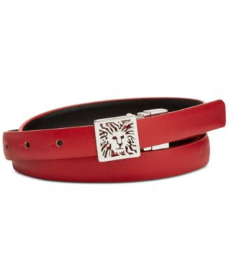 Anne Klein Lion Icon Skinny Belt