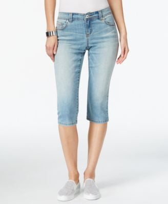 INC International Concepts Curvy Fairbanks Wash Skimmer Jeans, Only at Vogily