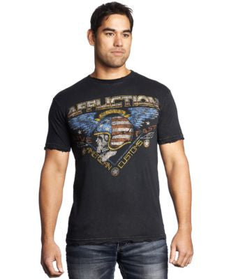 Affliction Men's American Highway Stranger T-Shirt