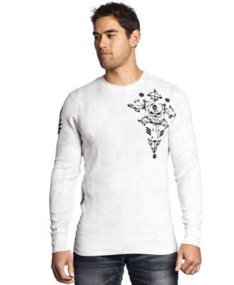 Affliction Men's Abrasive Thermal