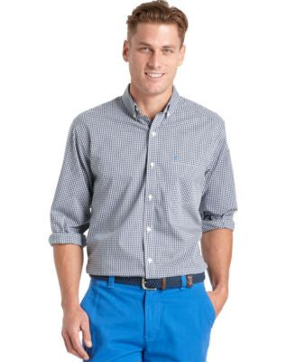 IZOD Gingham Long-Sleeve Shirt