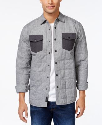 Ambig Union Quilted Long-Sleeve Shirt Jacket
