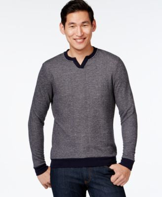 Vince Camuto Men's Classic V-Neck Pullover Sweater