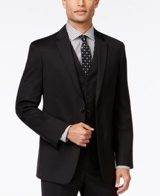 Tommy Hilfiger Black Classic-Fit Jacket