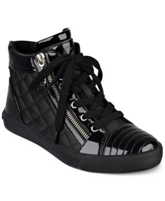 G by GUESS Orily Quilted High-Top Sneakers