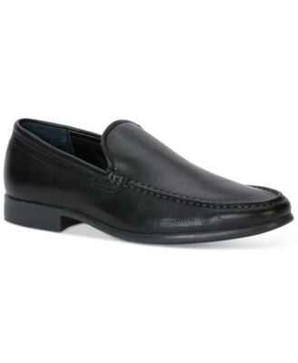 Calvin Klein Landen Tumbled Leather Loafers