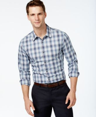 Michael Kors Men's Layne Checked Shirt