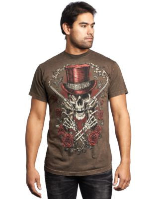 Affliction Men's Smokin' Aces Tee