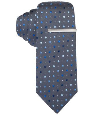Alfani Spectrum Harvey Dot Slim Tie, Only at Vogily