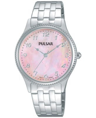 Pulsar Women's Dress Sport Stainless Steel Bracelet Watch 32mm PH8139