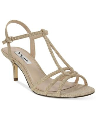 Nina Charece Strappy Evening Sandals