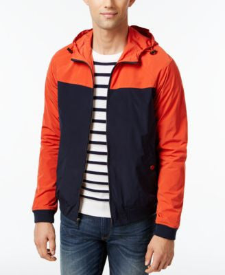 Michael Kors Men's Colorblocked Hooded Bomber Jacket