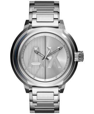 A|X Armani Exchange Men's Stainless Steel Bracelet Watch 49mm AX1364