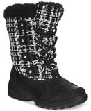 London Fog Women's Uxbridge Lace-Up Cold Weather Boots