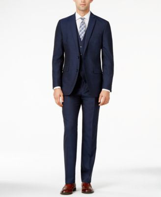 Bar III Midnight Blue Slim-Fit Suit Separates