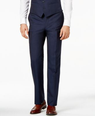 Bar III Midnight Blue Slim-Fit Pants