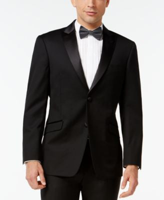 Tommy Hilfiger Peak-Lapel Classic-Fit Tuxedo Jacket