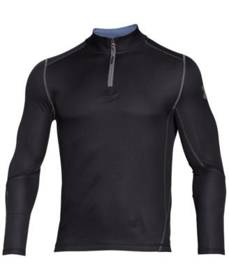 Under Armour Men's ColdGear® Infrared Grid Half-Zip Long-Sleeve Performance Shirt