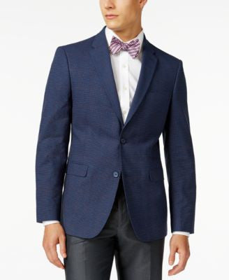Tommy Hilfiger Check Classic-Fit Sport Coat