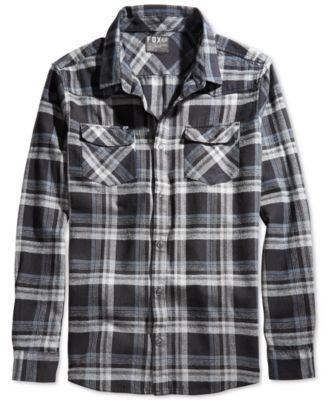 Fox Tidal Long Sleeve Flannel Shirt