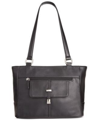 Giani Bernini Nappa Leather Belt Tote, Only at Vogily