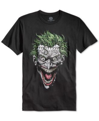 Bioworld Men's The Joker Graphic T-Shirt