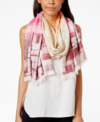 Collection XIIX Geo Print Oblong Scarf